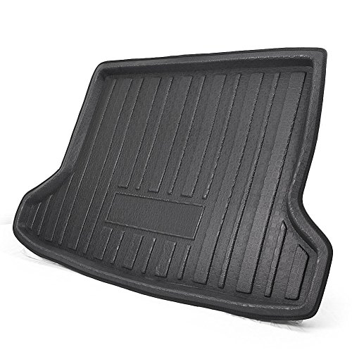 GZYF Rear Trunk Cargo Liner Floor Mat for HONDA HR-V/HONDA VEZEL 2014-2018, Black