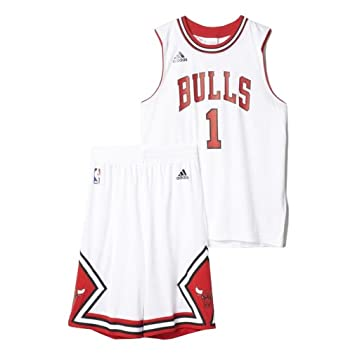 adidas chicago bulls minikit rose kinder