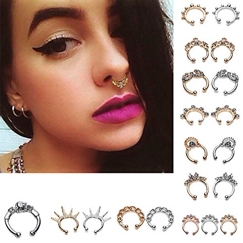 Maggie Septum Clicker Piercing Jewelry product image