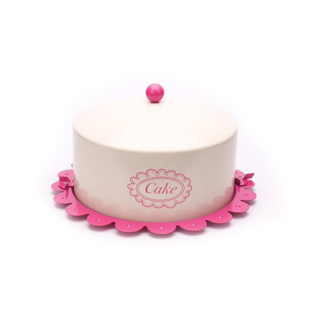 Hot sale X503L Metal Birthday Cake Tin/Carrier/Container/Home Kitchen Gift With Cover And Lock Catch