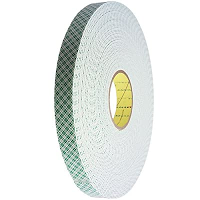 3M Double Coated Urethane Foam Tape Off-White