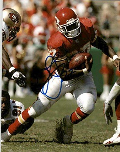 Larry Johnson Signed Autographed Glossy 8x10 Photo - Kansas City - Mall The Johnson City