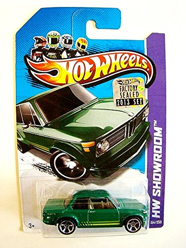 2013 Hot Wheels Factory Sealed Set Exclusive Hw Showroom - BMW 2002 - Green [1/500 Produced!]