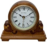 Fox and Simpson FSSW345 Buckingham Oak Mantel Clock