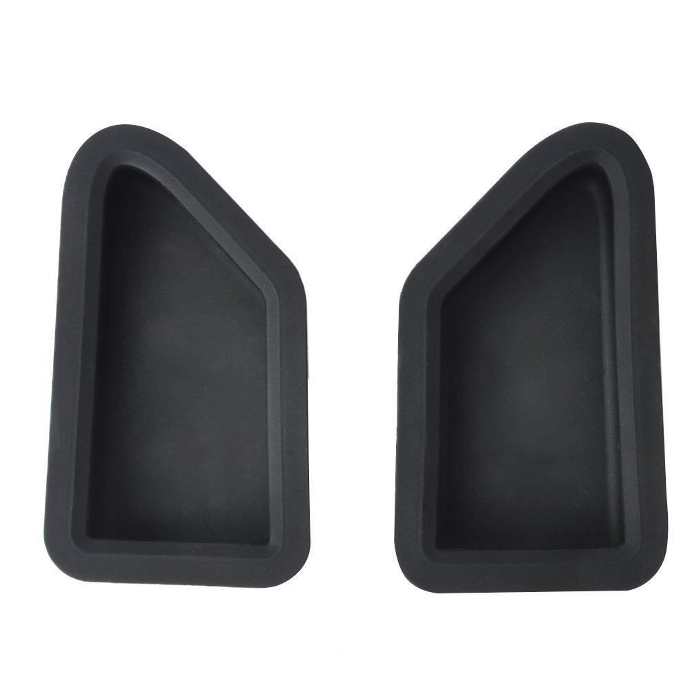 Issyzone For Chevy//GMC 2014-2018 Silverado//Sierra Bed Rail Stake Pocket Covers Rubber Stake Hole Cover