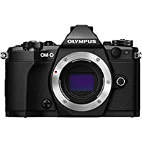 Olympus OM-D E-M5 Mark II Mirrorless Micro Four Thirds Digital Camera (Body, Black) (Certified Refurbished)