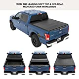 Bestop 16113-01 EZ Fold Truck Tonneau Cover for 2004-2018 Ford F-150 Styleside Crew Cab/Super Cab (except Heritage), 5.5' bed
