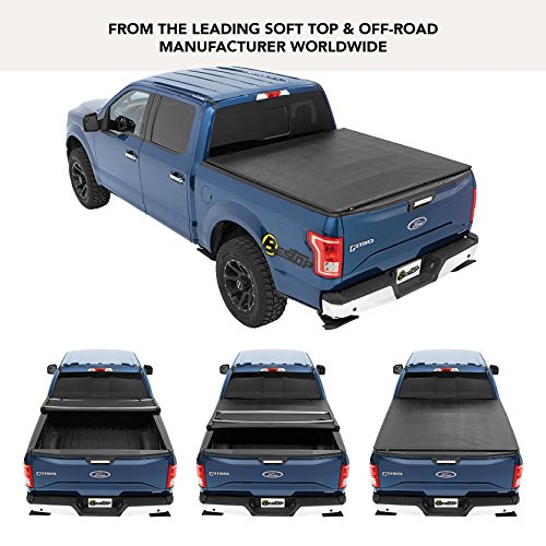 Bestop 16113-01 EZ Fold Truck Tonneau Cover for 2004-2018 Ford F-150 Styleside Crew Cab/Super Cab (Except Heritage), 5.5' Bed ()