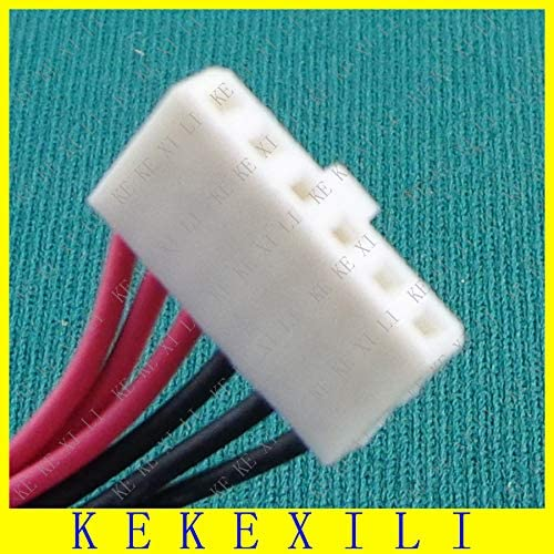 Computer Cables DC Jack with Cable for Toshiba Satellite DC Power Jack with Cable Laptop DC Power Jack Connector P500 P505 Laptops Cable Length: Other