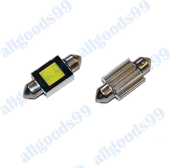 Ford – Correa de distribución para Ford Focus MK1 COB canbus LED matrícula bombillas Festoons – Bombillas C5 W 36 mm: Amazon.es: Coche y moto