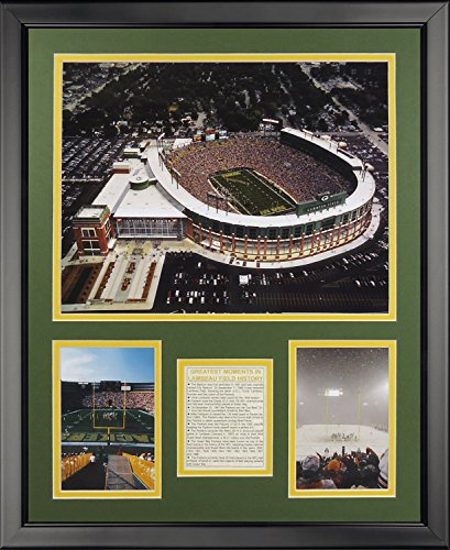 Legends Never Die New Lambeau Field Framed Photo Collage, 16