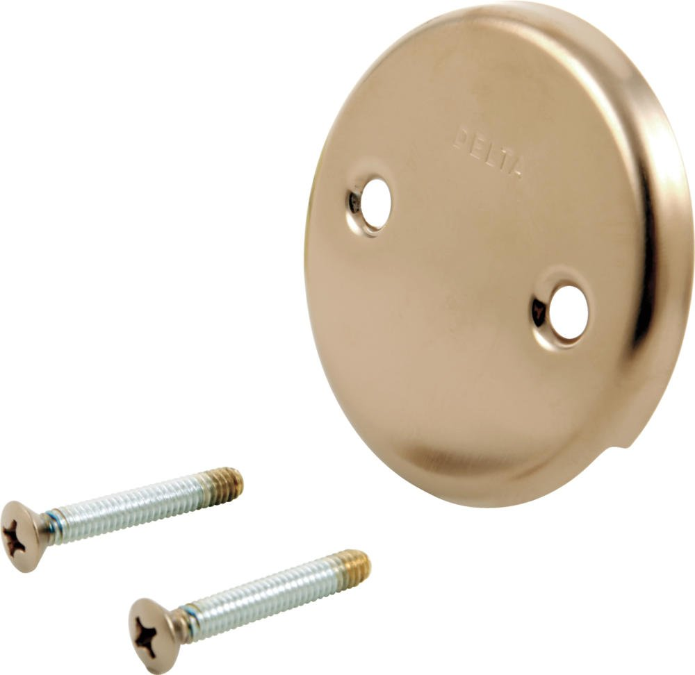 Delta RP31556CZ Overflow Plate and Screws, Champagne Bronze