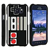 Cheap MINITURTLE Case Compatible w/ [Samsung Galaxy S6 Active Slim case, { will only fit S6 Active ][Snap Shell] Hard Plastic Slim Fitted Snap on case Designs Game Controller