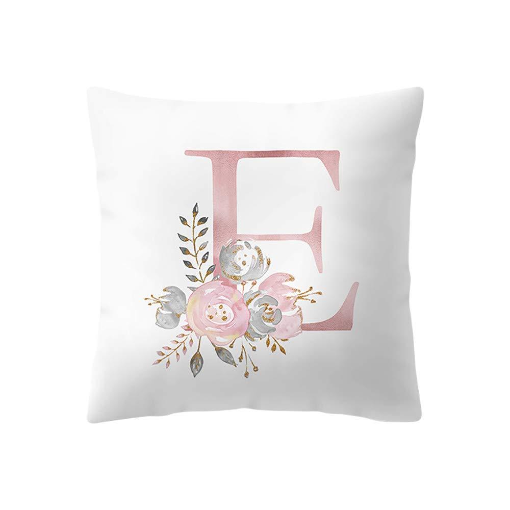 iZHH Home Cushion Cover Kids Room Decoration Pillowcases 18 x 18 inch