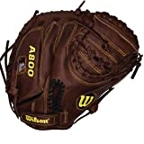 Wilson Game Ready Soft Fit Baseball Catcher Mitt, Right Hand Throw, 34'