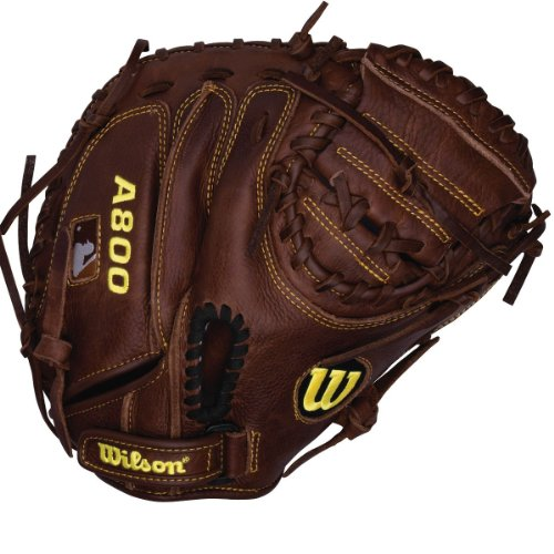 Wilson Game Ready Soft Fit Baseball Catcher Mitt, Right Hand Throw, 32