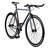Big Shot Bikes City Commuter Bike – Kyoto SIZE. Single Speed and Fixed Gear. Front and Rear Brakes. Comfortable Road Bicycle Saddle. Sporty Bullhorn Handlebars. Flip-Flop Hub. Mens and womens. For Sale