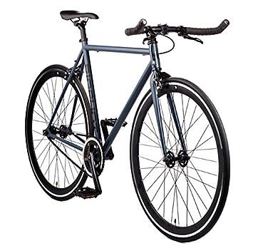 "Kyoto Single Speed Fixed Gear Road Bike Size: Medium 56cm   5'7"" To 5'11"" by Big Shot Bikes"