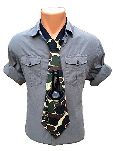 Bev Tie The Original Hands Free Drink Holder - Beer Tie (Camo)]()