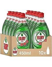 Fairy Ultra Power Vaatwasser, handvloeistof, 4,5 l (10 x 450 ml), optimale vetoplossingskracht