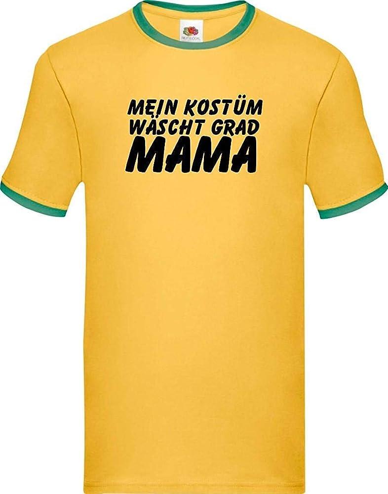 Shirtinstyle Luchador Camiseta CARNAVAL Mi Traje Lava Grados MAM Disfraz de carnaval revestimiento, S-XXL - verde amarillo, XXL: Amazon.es: Juguetes y juegos