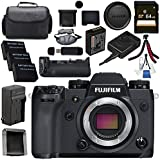 Fujifilm X-H1 Mirrorless Digital Camera (Body Only) 16568731 VPB-XH1 Vertical Power Booster Grip Bundle