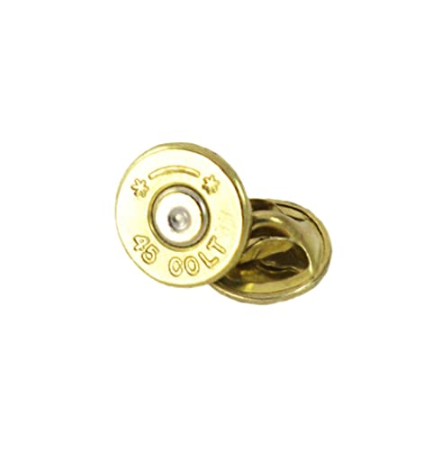 Amazon.com: Starline 45 Colt latón Bullet Tie tac-hat Pin ...