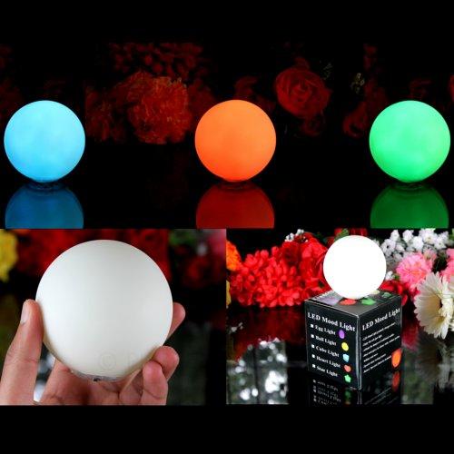 3er Set LED-Stimmungslichter Lampen mit Farbwechsel - Ball (3 x LED Ball) von PK Green