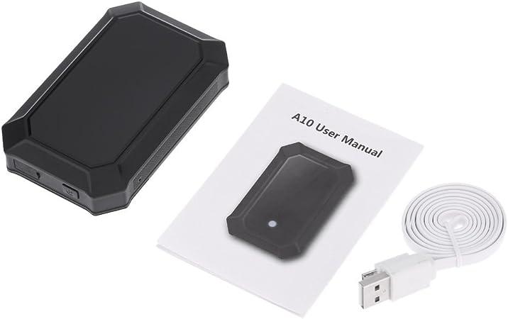 Anself A10 - Mini Localizador de Alarma SPY GPS Dispositivo de ...