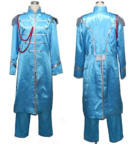 [makura Women's 2147The Beatles Sgt. Pepper's Lonely Hearts Cosplay (XXXL)] (Sgt Pepper Paul Costume)