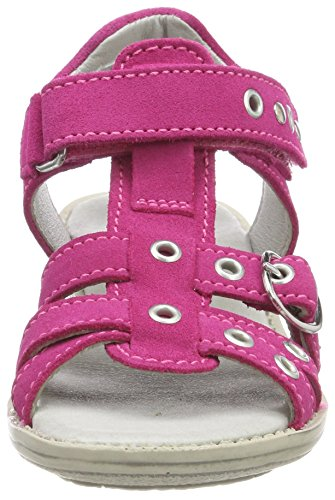 Däumling Maxi Mädchen T-Spangen Sandalen Pink (Turino Ciclamino)