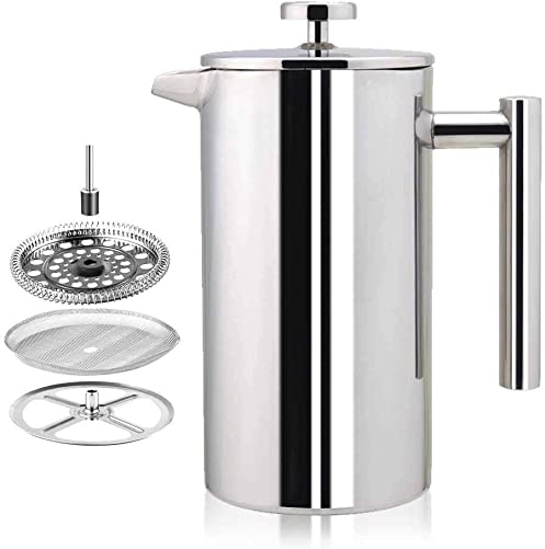 Stainless Steel French Press Coffee Maker