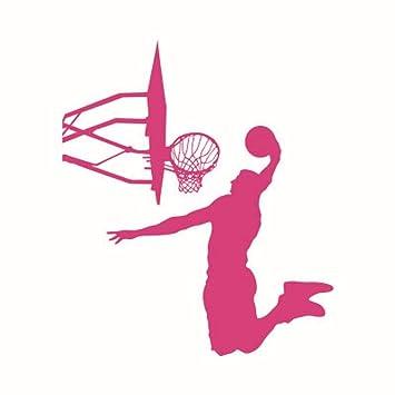 LSDAEER Baloncesto Slam Dunk Etiqueta De La Pared Dormitorio ...