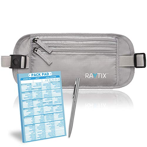 Travel Money Belt RFID
