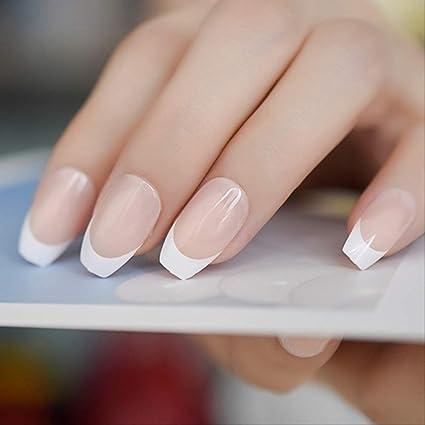 WFQ - Adhesivos para uñas, 24 unidades, bailarina, uñas postizas ...