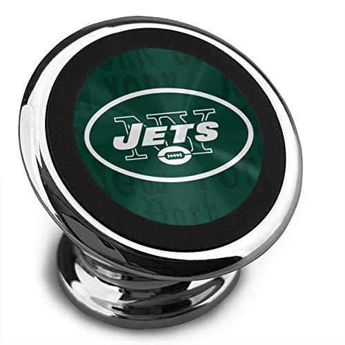Aoskin New York Jets Universal Magnetic Phone Holder Car Mount with A Super Strong Magnet