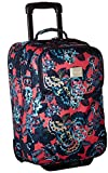 Roxy Women's Wheelie Rolling Suitcase, Rouge Red Mahna Mahna