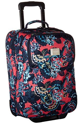 Roxy Women's Wheelie Rolling Suitcase, Rouge Red Mahna Mahna by Roxy