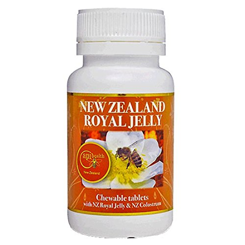 Royal Jelly Chewable Tablets 1000mg (60 - Propolis Bee Chewable