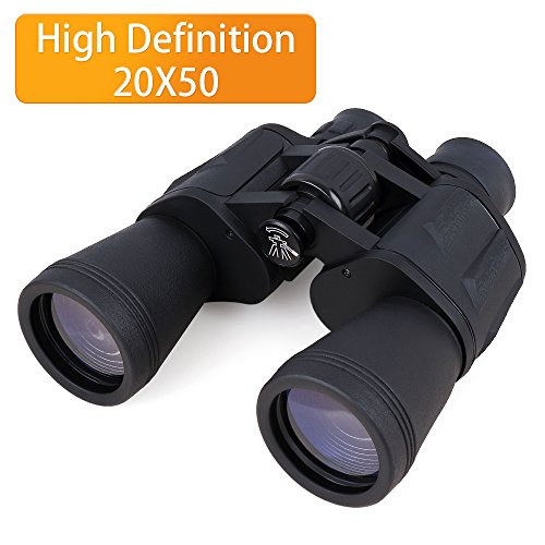 BuySevenSide 20x50 Powerful High Definition Binoculars with Durable Portable and Fully Coated Lens For Birding Watching, Camping, Hunting, Concert, Sports, Sightseeing and More