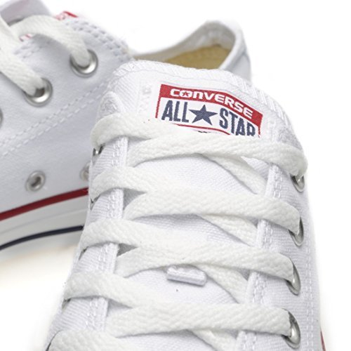 - Converse Unisex Chuck Taylor All Star Low Top Sneakers -  Optical-white - 6.5 B(M) US Women / 4.5 D(M) US Men