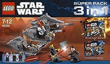 LEGO 66395 Star Wars - Paquete Especial 3 en 1 (7957, 7913 y 7914)