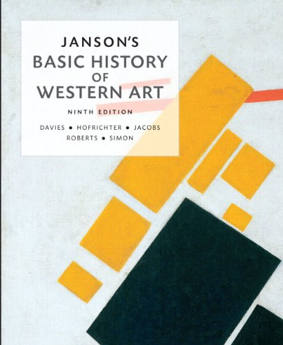 - Janson's Basic History of Western Art (9th Edition) (History of Art)