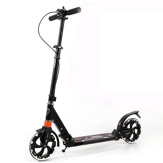 Scooters Patinete no eléctrico para niños y Adultos, Pedal ...