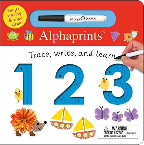 Alphaprints: Trace, Write, and Learn 123