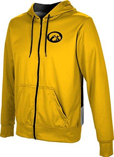 ProSphere University of Iowa Men's Full Zip Hoodie - Secondskin FD9F1 (XX-Large) ()