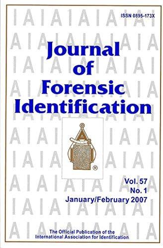 Journal Of Forensic Identification Amazon Com Magazines