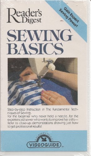 Reader's Digest Sewing Basics: With Viewer's Guide Booklet