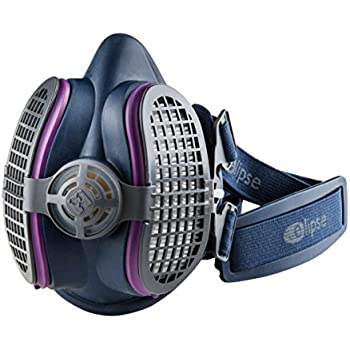 GVS SPR451 Elipse P100 Half Mask Respirator, Small/Medium