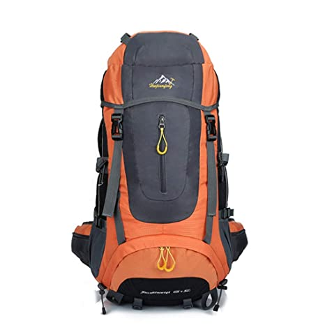 6210c211358a Image Unavailable. Image not available for. Color  Four 56-75L Large  Capacity Unisex Outdoor Camping Hiking Backpack ...